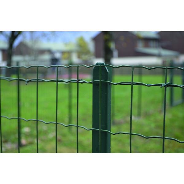 Piquet de clôture et grillage en rouleau